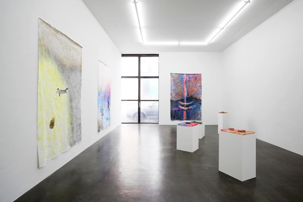 Installation view,Katharine Fengler,  SHE SHED , Warhus Rittershaus