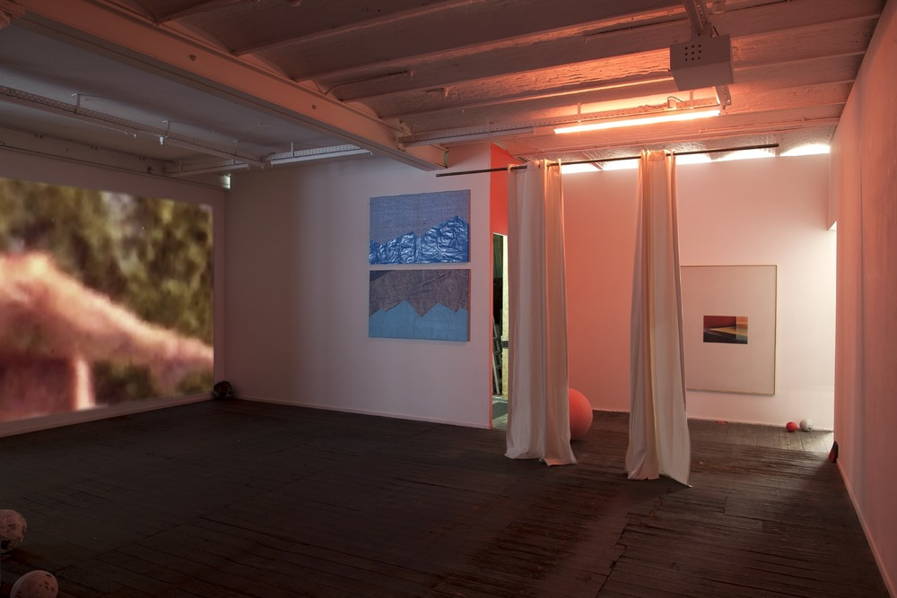 Installation view,  East of Eden , Galerie Jeanrochdard
