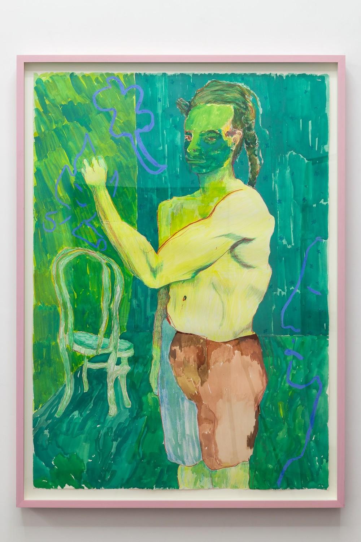 Alex Chavez, Painter, 2016