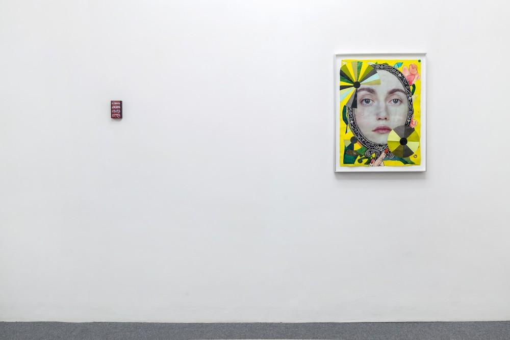 Installation view,Le Domaine Enchante, Galleria Acapella