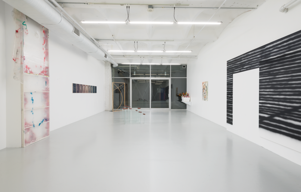 Installation view, Dark Mimes, Ashes/Ashes