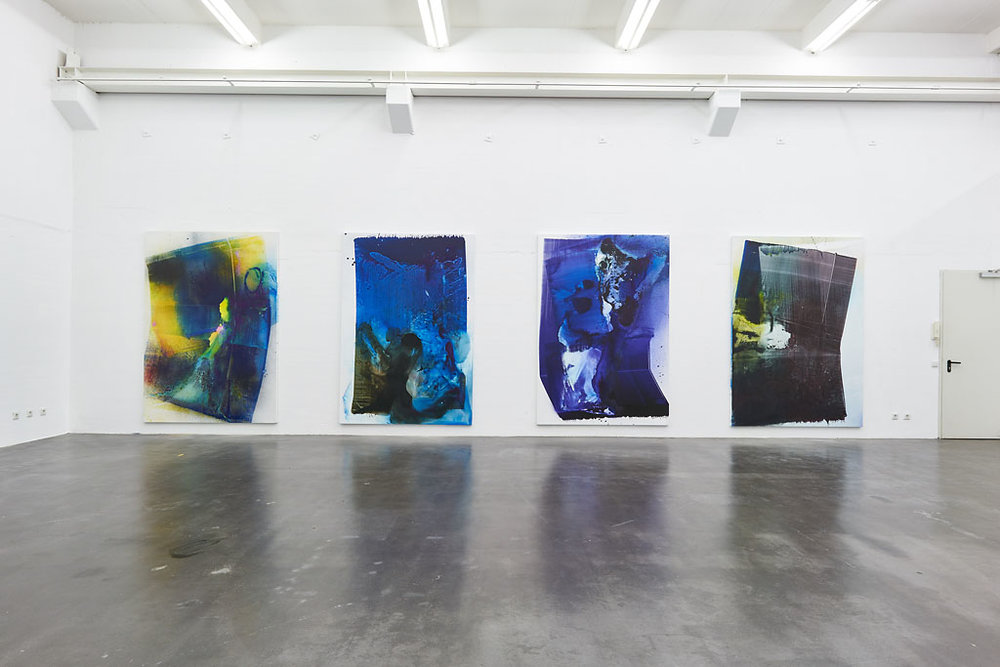 Installation view, Max Frintrop, Frontron, Berthold Pott