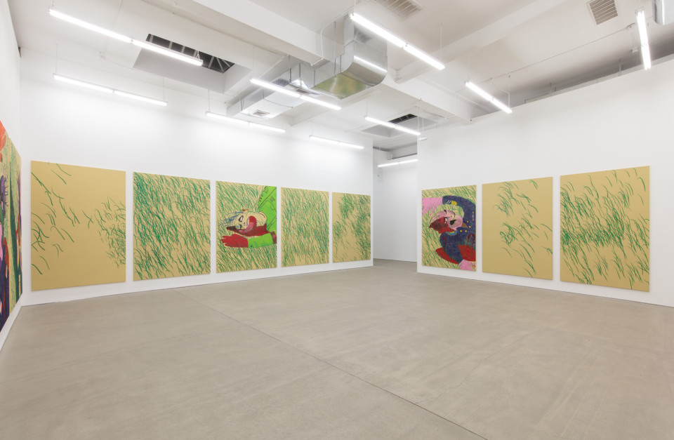 Installation view, Calvin Marcus,  Were Good Men , C L E A R I N G