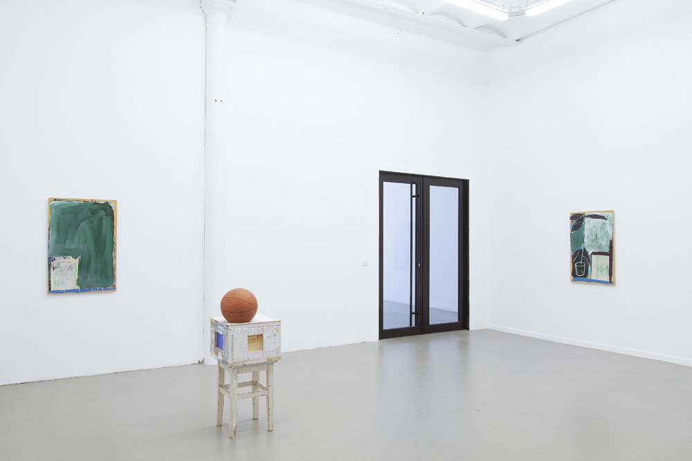 Installation view, Kenneth Alme,  And There Are Oceans , Rod Barton