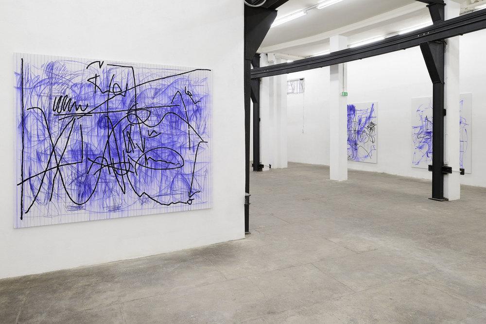 Installation view,Jana Schröder, Spontacts FX , T293