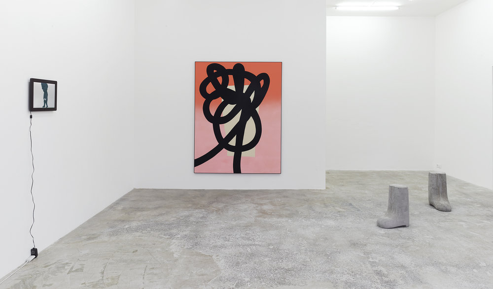 Installation view, Your Swath, My Jab, DREI