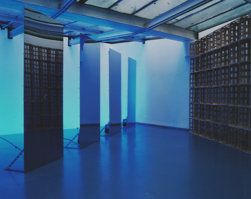 Exhibition view of Claude Lévêque, Valentin, Paris, 2001  courtesy of the artist and Valentin gallery, Paris