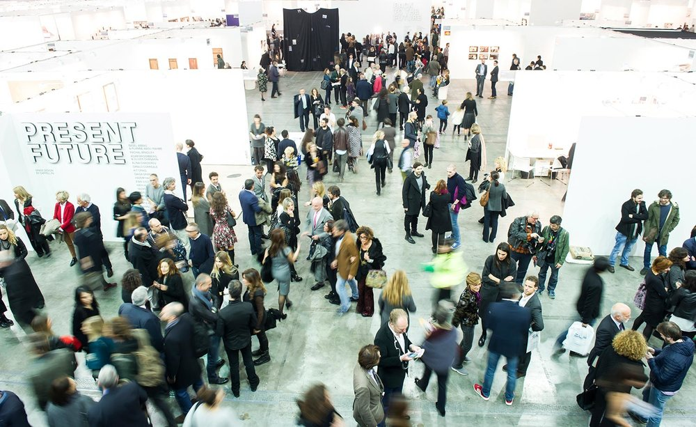 Opening of Artissima 2015, Photo: Perottino/Alfero