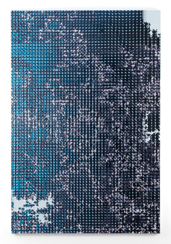 Hugh Scott-Douglas  YoYo, 2016 UV cured inkjet print and resin on canvas