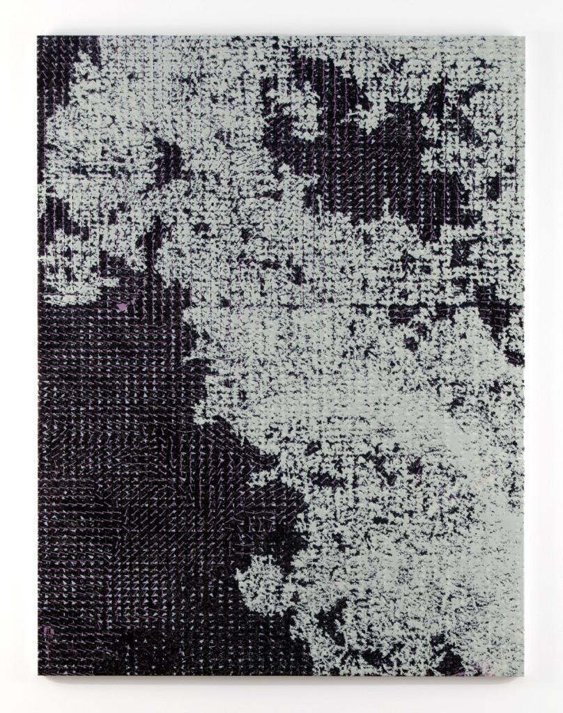 Hugh Scott-Douglas  Triple-Star, 2016 UV cured inkjet print and resin on canvas