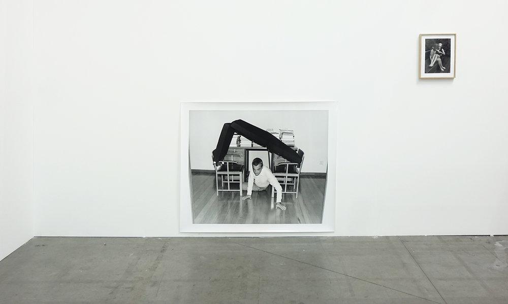 Installation view, Joanna Piotrowska, Galeria Madragoa's booth