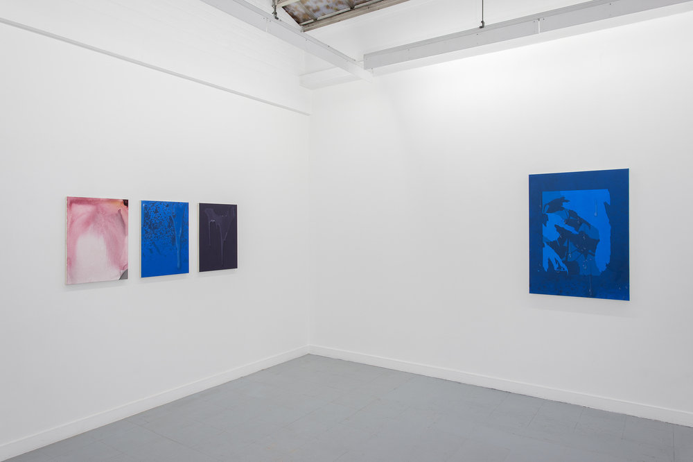 Installation view, Sayre Gomez, Illustration, Rodolphe Janssen