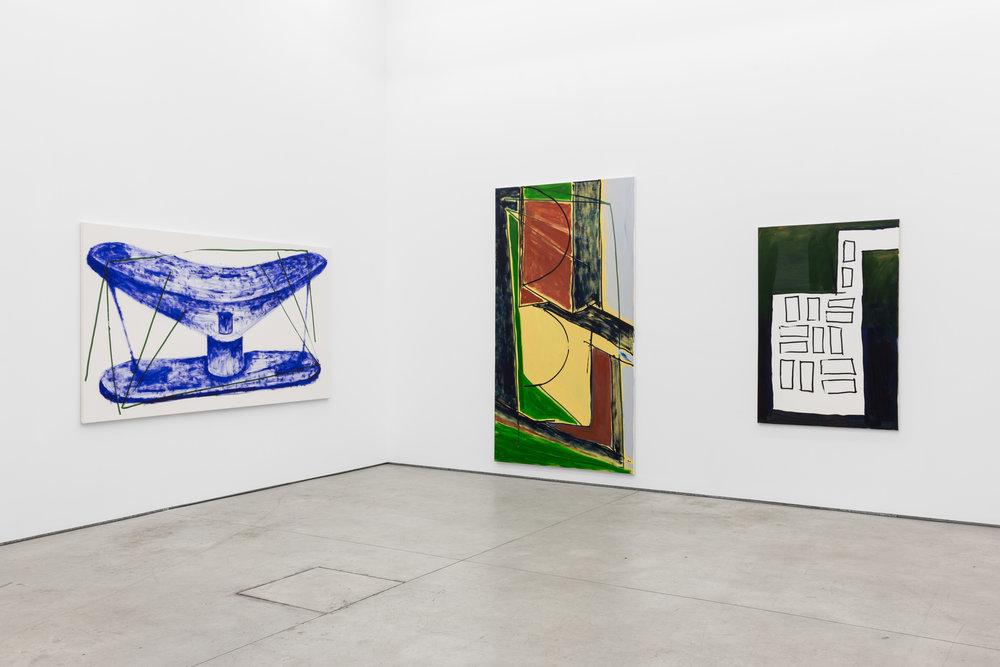 Installation view, Max Ruf, STADT , Múrias Centeno