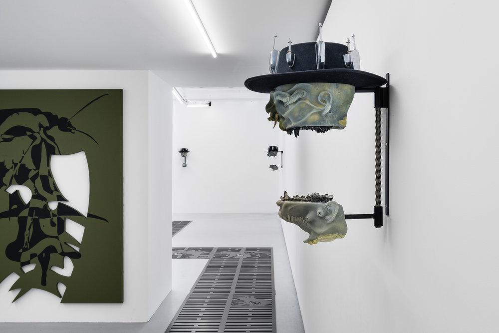 Installation view, Bradford Hurst Kessler , Valentin