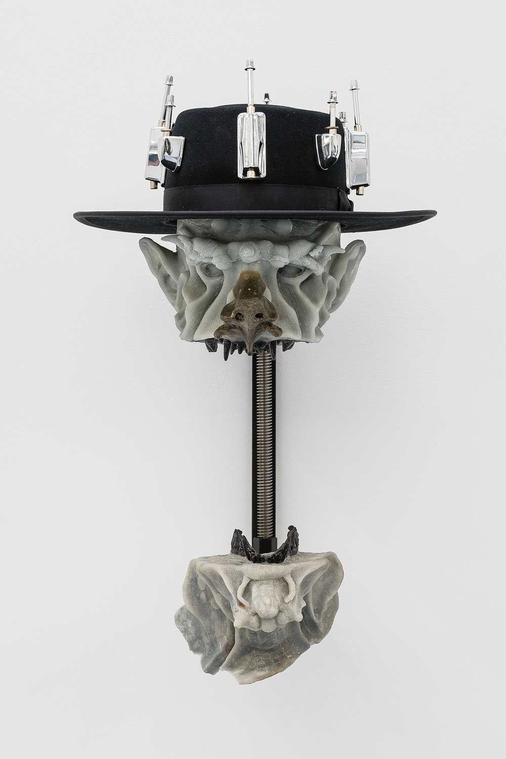 Bradford Kessler, Man with hat, 2016
