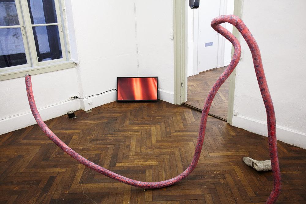 Installation view, Centres of Indetermination ,SixtyEight Art Institute