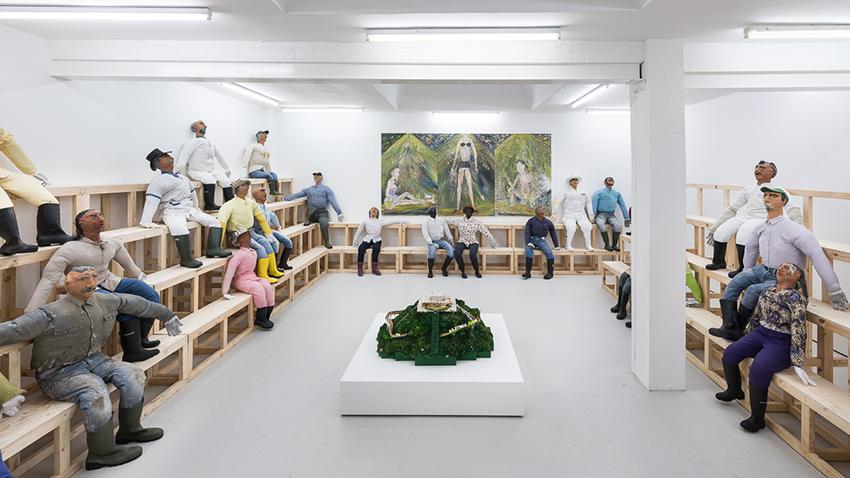 Installation view, Flying moths , Carlos/Ishikawa
