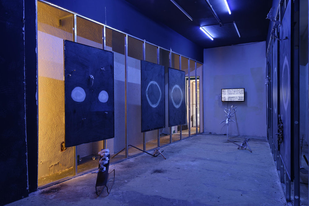 Installation view, Antoine Renard at Tlön