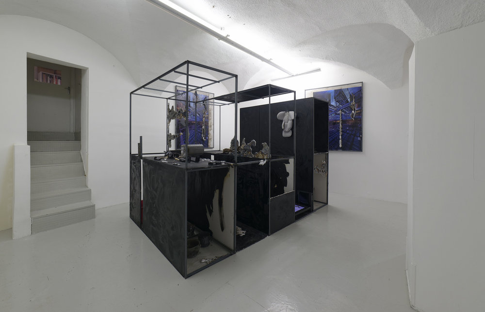 Installation view, Antoine Renard at In Extenso