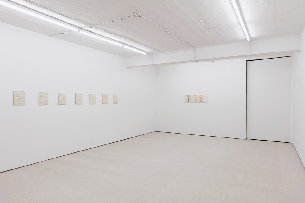 Installation view, Sachin Kaeley,  Two Months Later , Seventeen Gallery