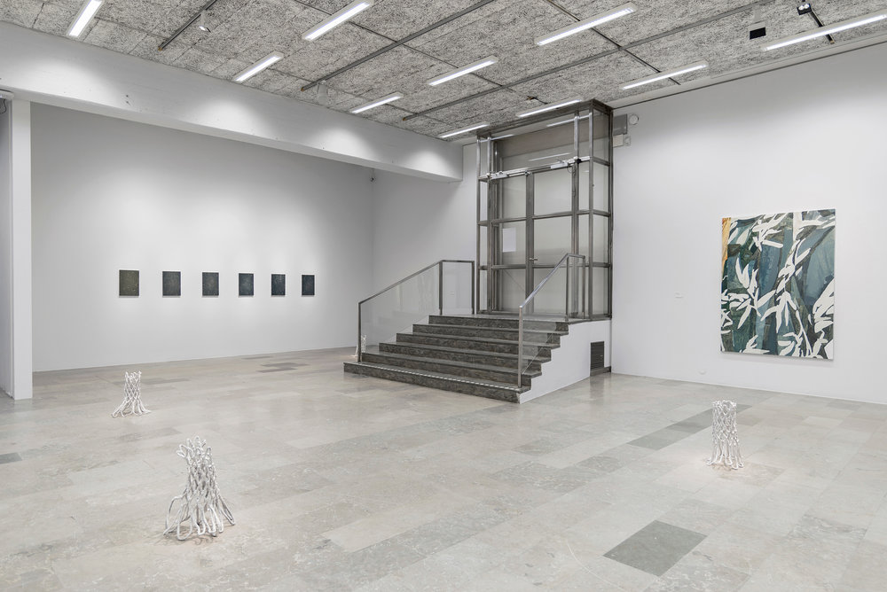 Installation view, Fredrik Åkum, Gothenburg Museum of Art