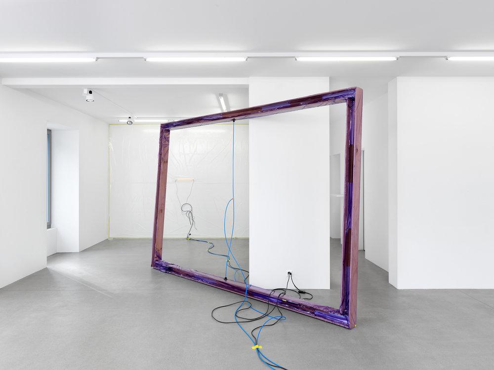 Installation view, Manuel Burgener, Kept Inside, Gallery Maria Bernheim