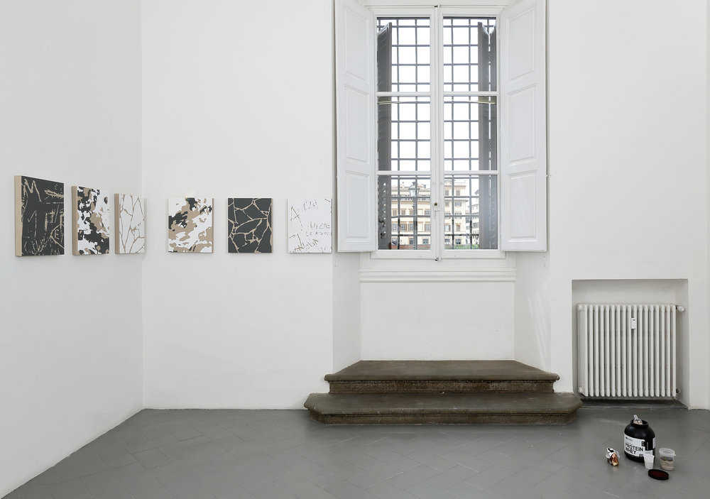 Installation view, Pedro Matos,  At once familiar and completely alien , Eduardo Secci Contemporary