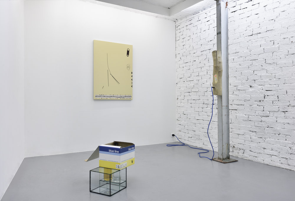 Alluring shapes, tempting spaces , 2017, installation view, Galerie Eva Meyer