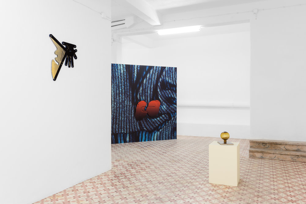 Installation view, Golden Grain, Syntax