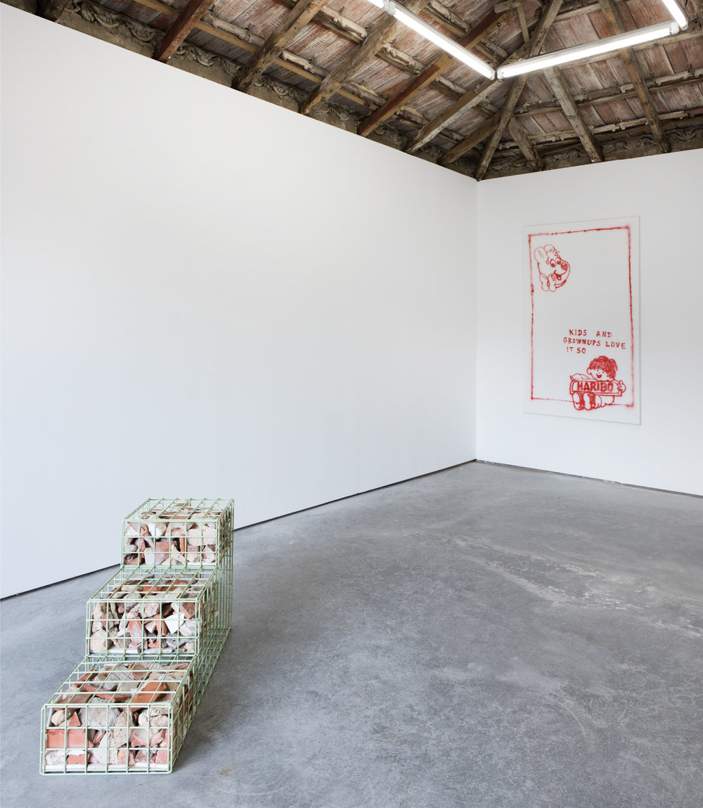 Installation view,  Out of Office , Hawaii-Lisbon