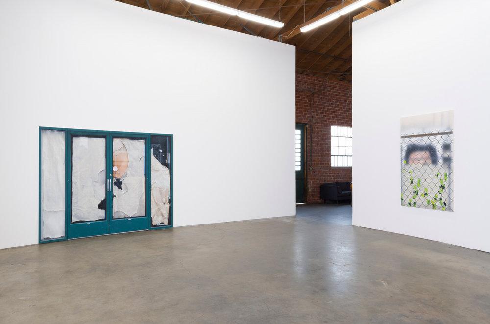Installation view, Sayre Gomez, Déjà Vu , 2017