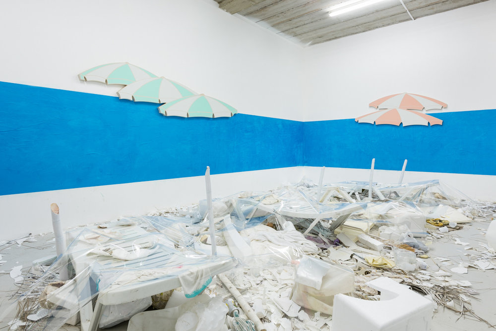 Installation view,Dominic Samsworth, Return to Trash Island , Supplement