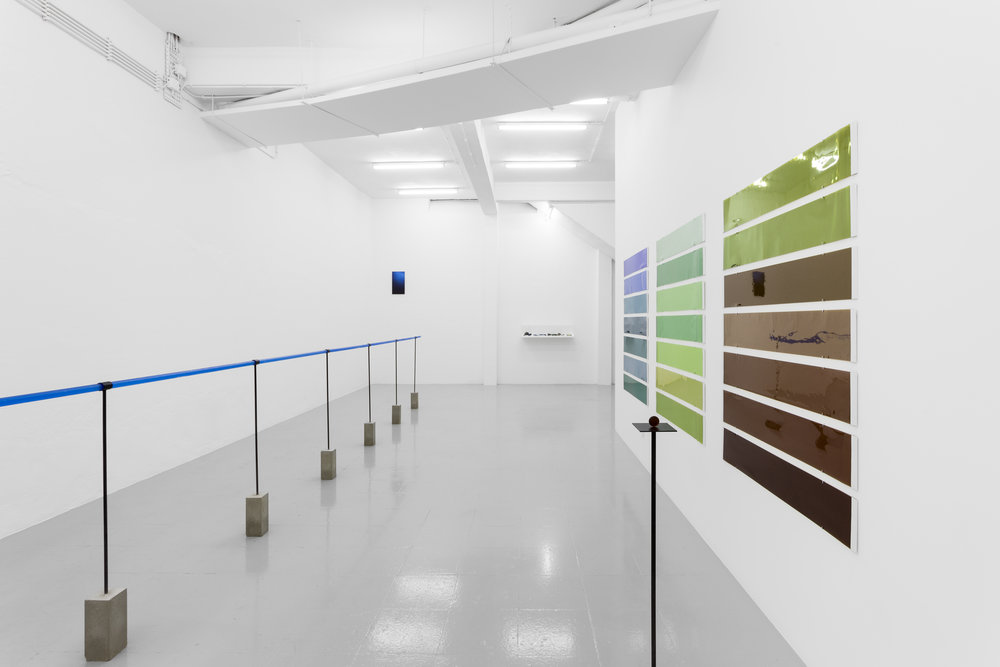 Installation view, Irene Kopelman,  Indexing Water , Kunsthalle Lissabon