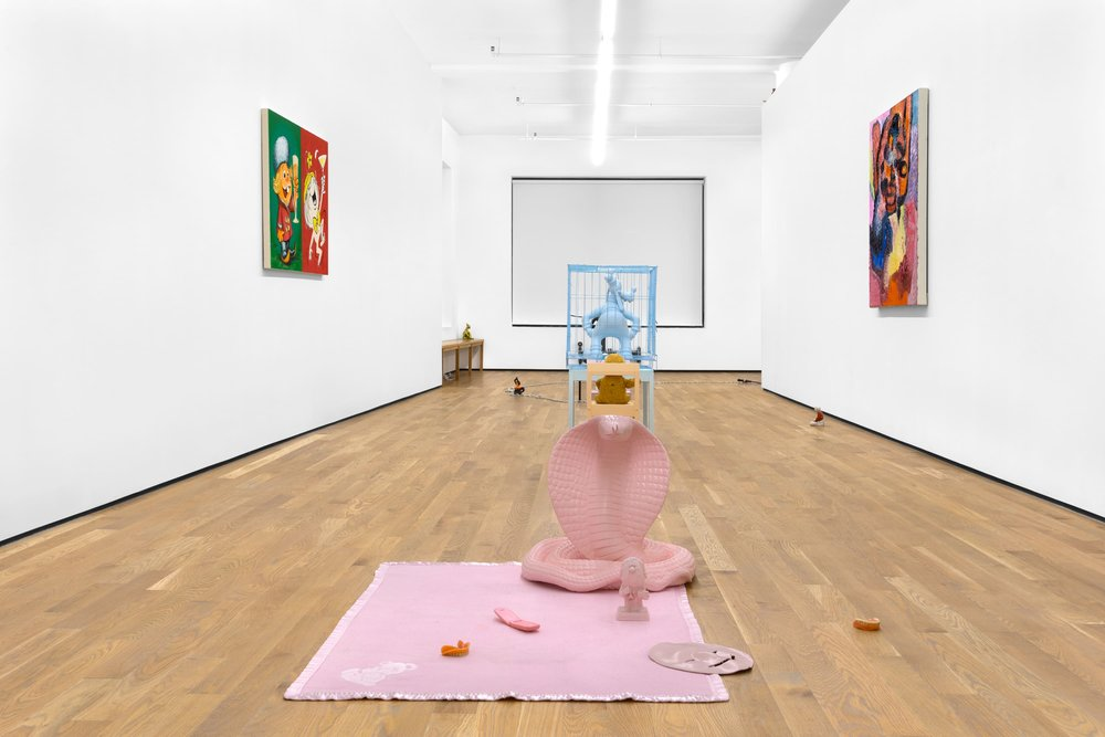 Mature Themes, 2018, installation view, Foxy Production