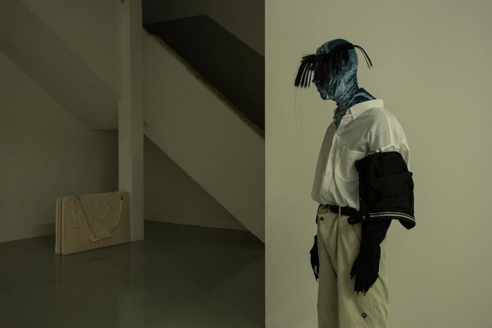 Installation view, Bruno Zhu, Continente , Kunsthalle Lissabon