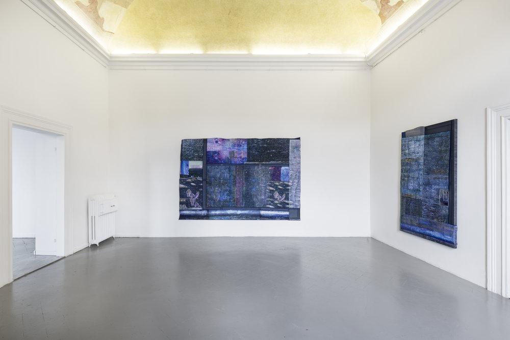 Kristan Touborg, Summer Night Plasticity (Excessive Impressionism) VII, 2018 & Summer Night Plasticity (Excessive Impressionism) IV, 2018.jpg