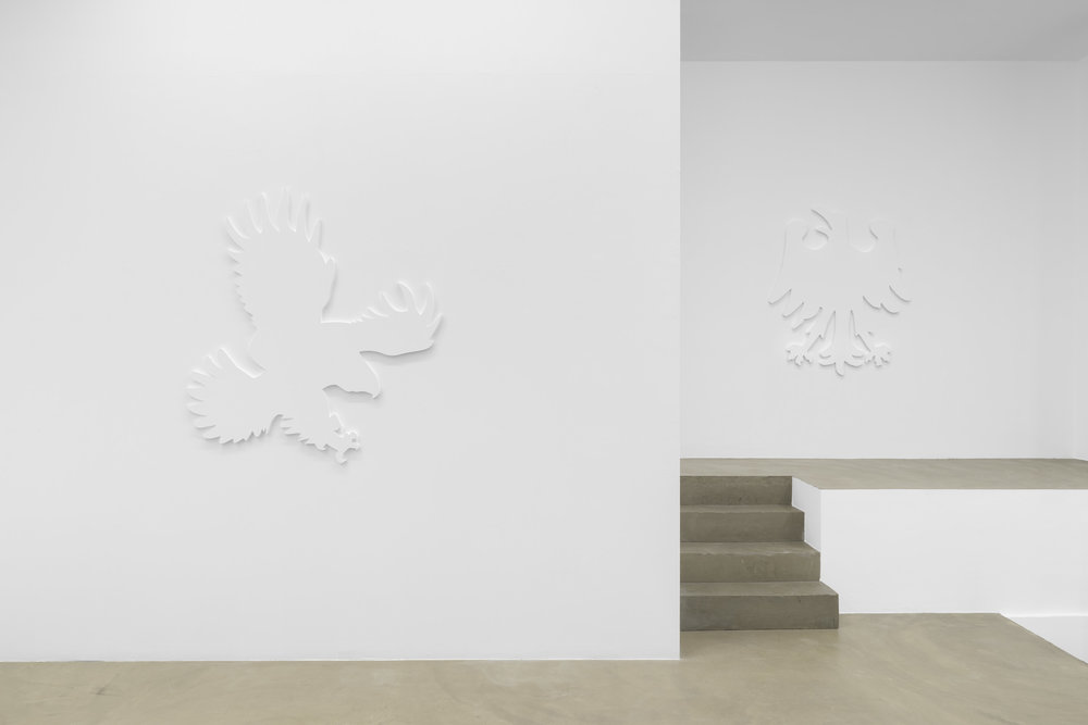Daniel Boccato, fly like an eagle, 2018, installation view 2 @RIBOT gallery.jpg