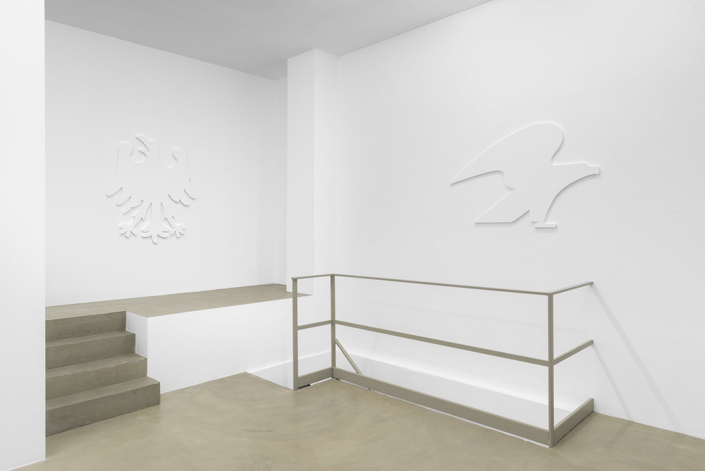 Daniel Boccato, fly like an eagle, 2018, installation view 4 @RIBOT gallery.jpg