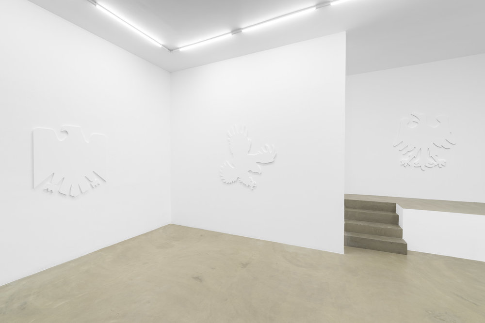 Daniel Boccato, fly like an eagle, 2018, installation view 1 @RIBOT gallery.jpg