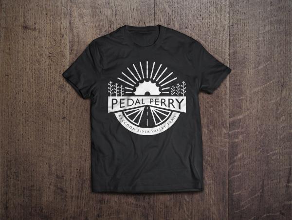 Pedal Perry Tshirt mockup