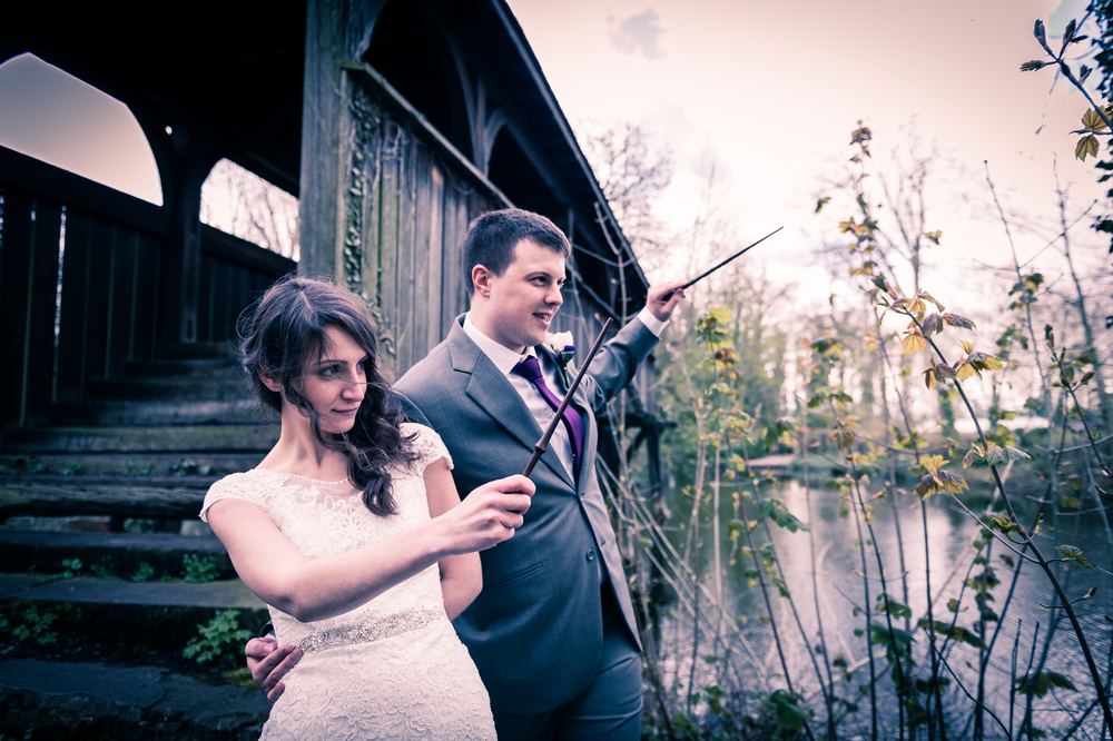 Harry Potter Wedding at Monk Fryston Hall