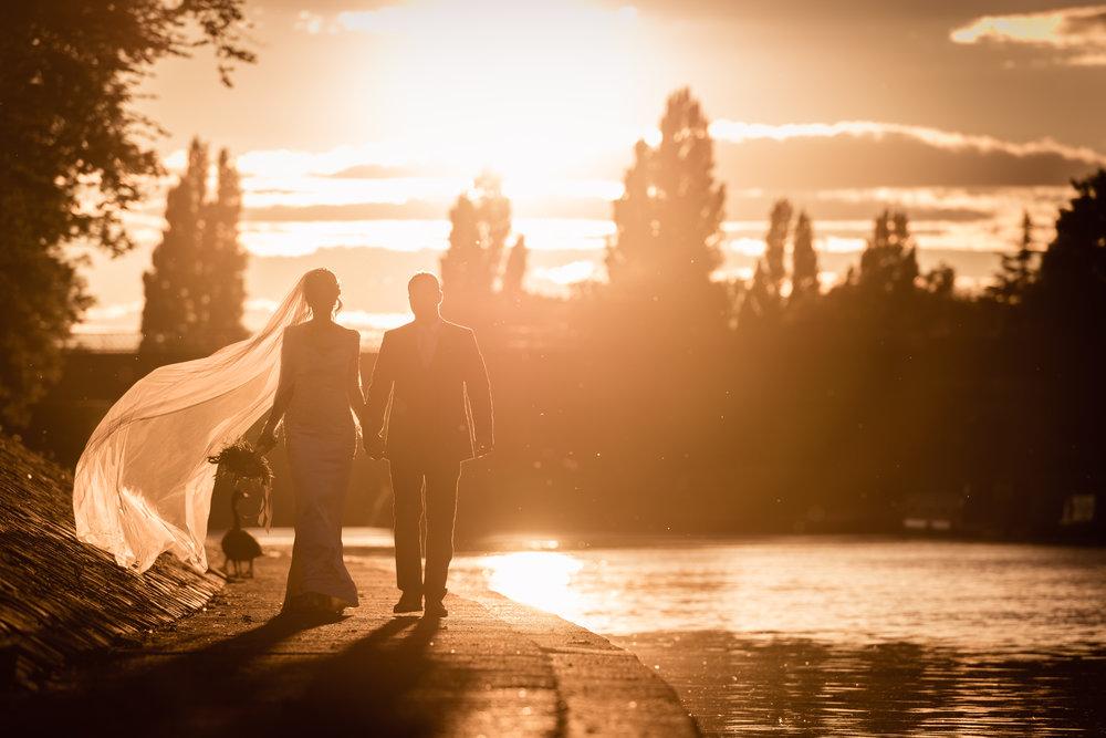 Sunset Wedding - York Wedding - Wedding Photographer