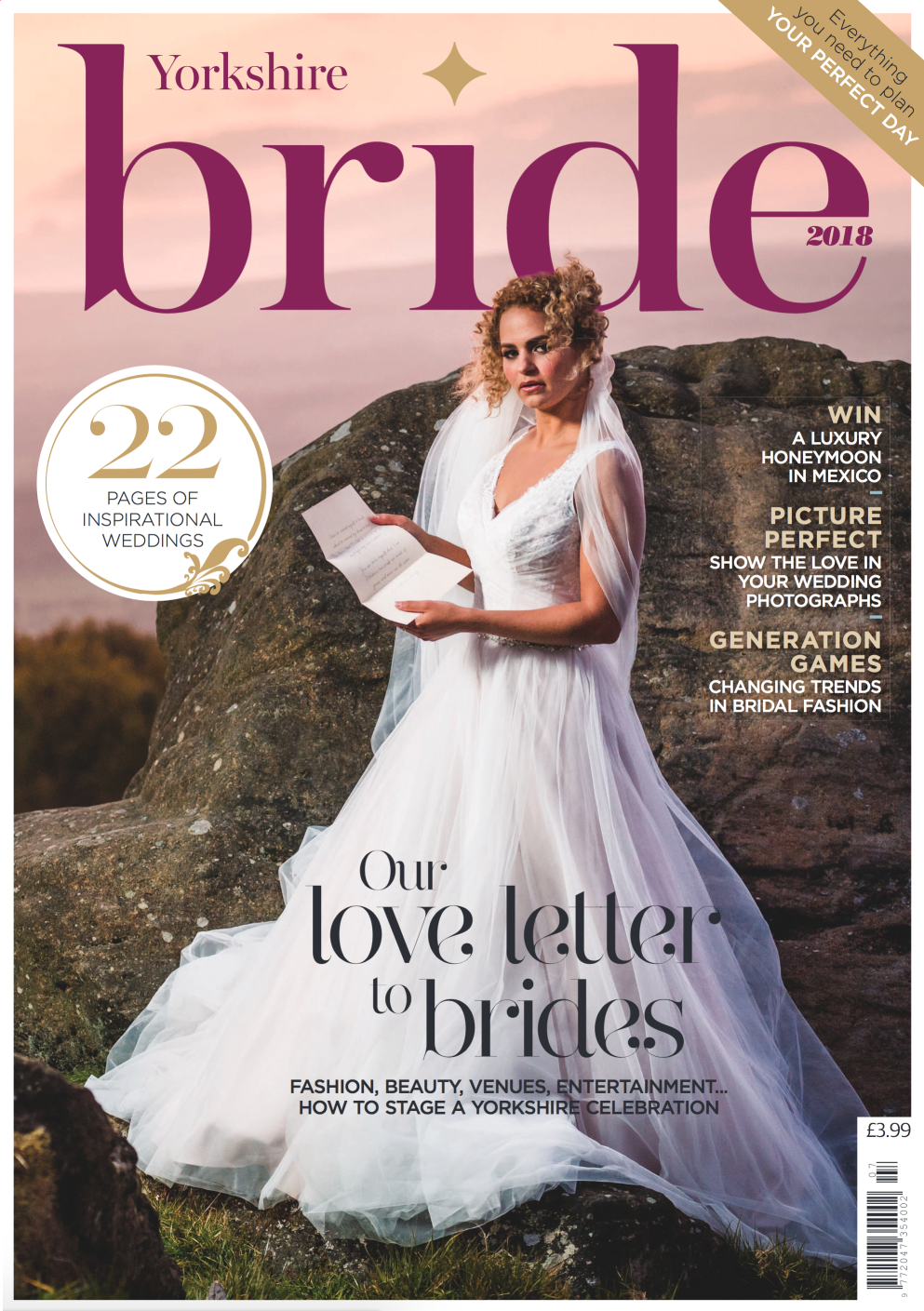 Yorkshire Bride Magazine Cover