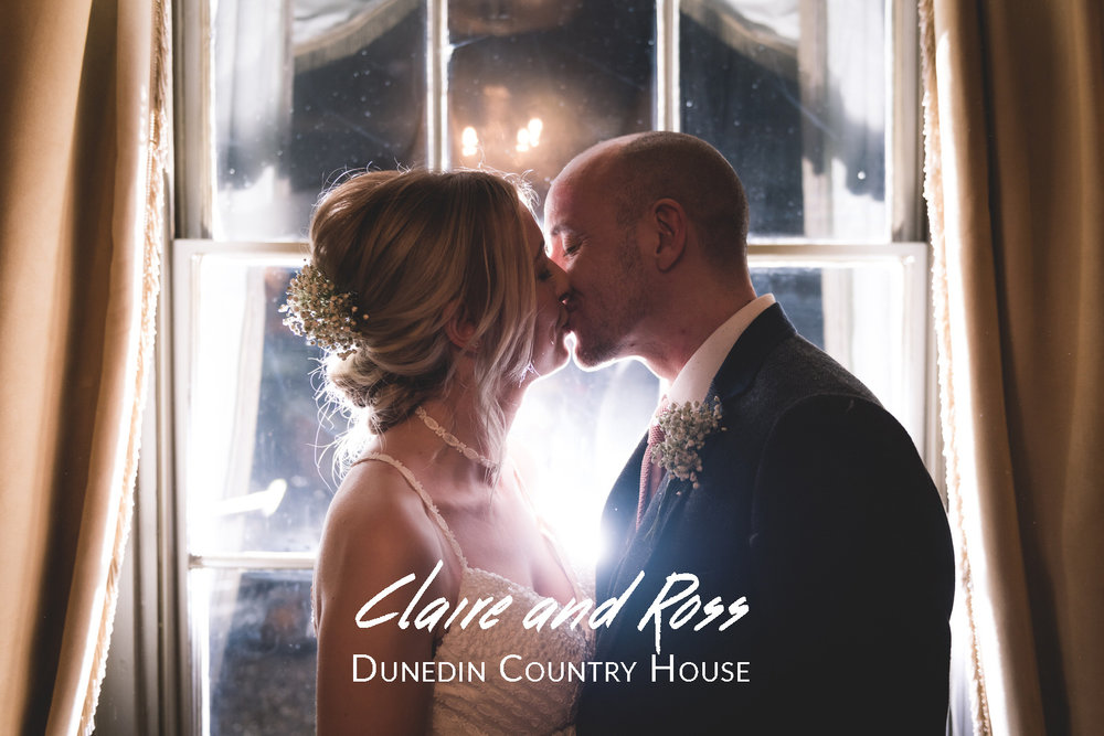 Claire and Ross' Wedding - Dunedin Country House