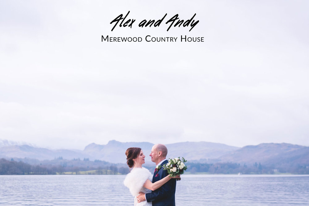 Alex and Andy's Wedding - Merewood Country House