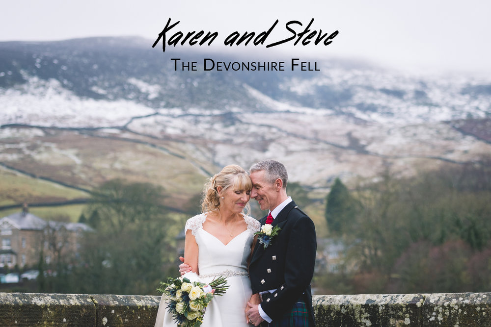 Karen and Steve's Wedding - The Devonshire Fell