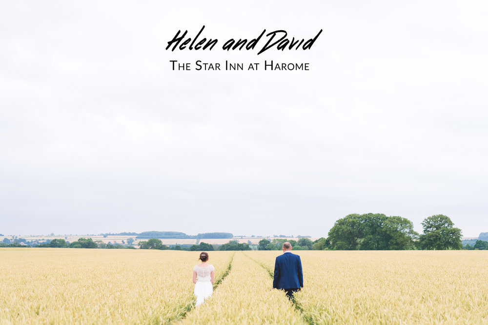 Helen and David's Wedding - The Star Inn at Harome