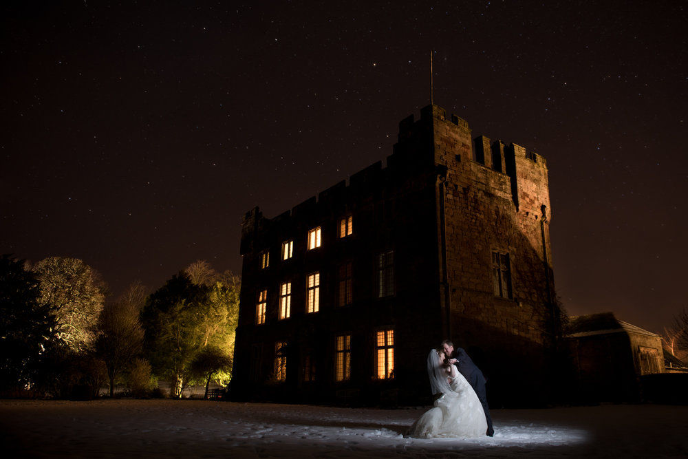 Real Winter Wedding - Askham Hall, Cumbria