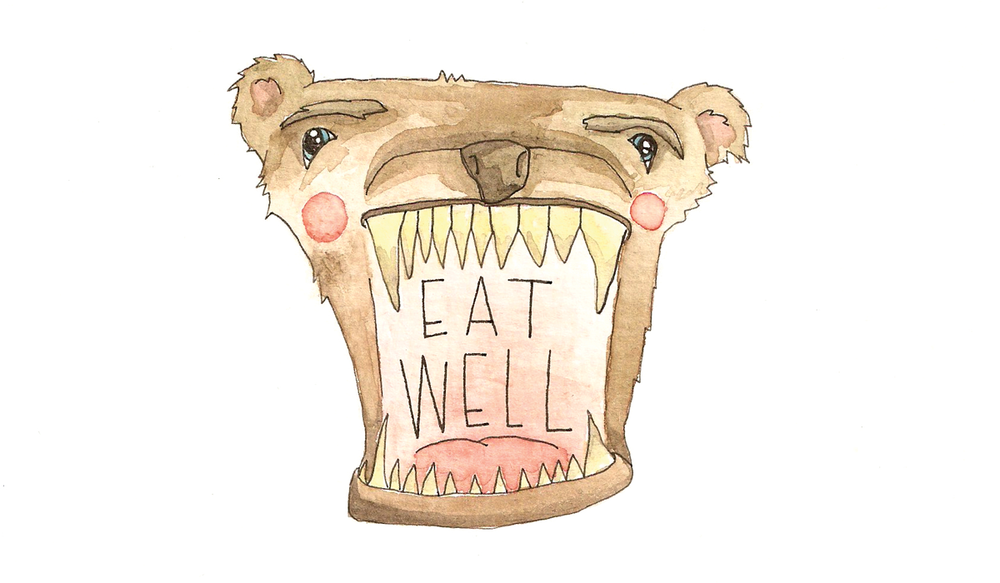 eat well, be well
