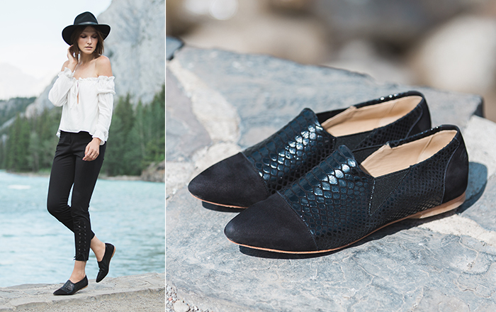 Image from poppy barley.com of the slip on oxford, my FAVOURITE style of shoe!